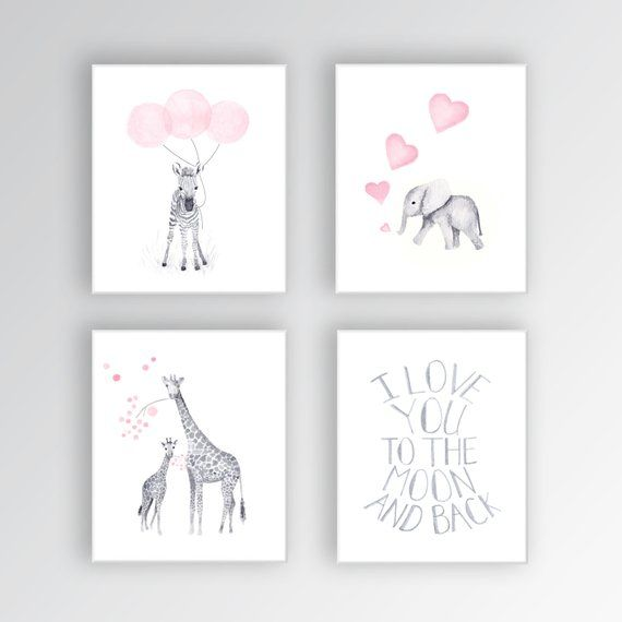 Perfect CANVAS Art For Kids Room, Artwork For Nursery, Baby Girls Room Decor, Wall  Art Prints, Nursery Decor