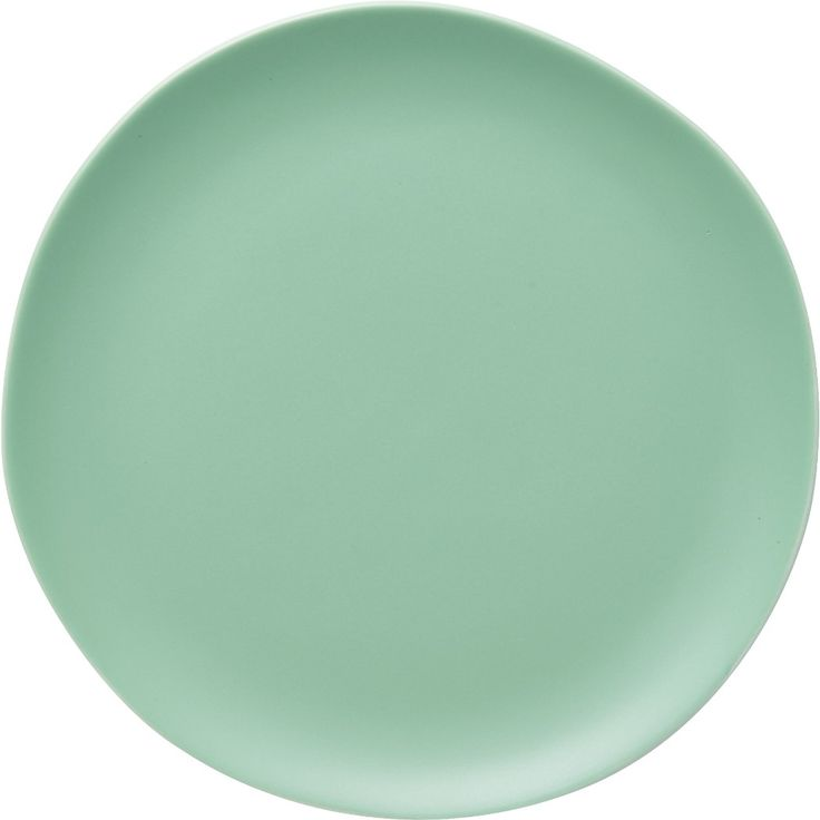 Shop crisp matte seafoam green salad plate.   Handmade stoneware with organic edges and a modern matte glaze sets the table for everyday and special occasions alike.