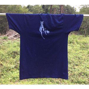 Yahoo!ショッピング - Tシャツ - 藍染の猫(商品カテゴリー) 売れ筋通販 - 八ヶ岳スタイル