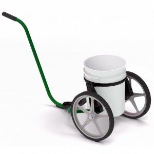 Put wheels on a five gallon bucket!