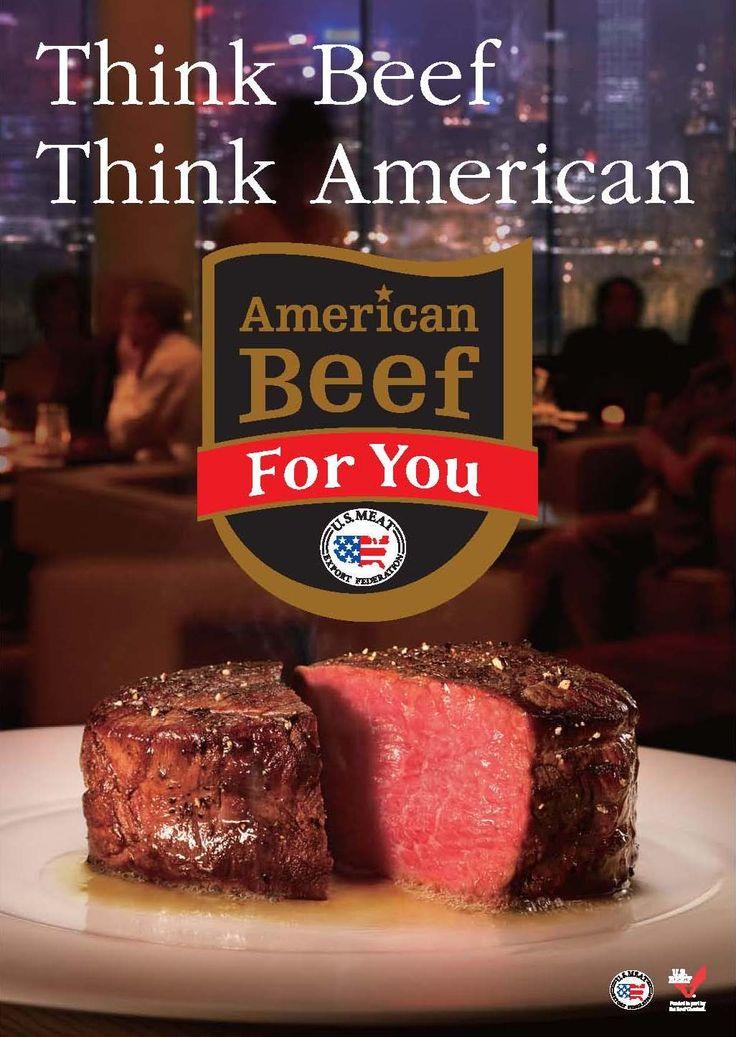 ビーフといえば、アメリカン。