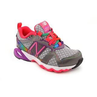 New Balance Girl's 'KJ695' Leather Athletic Shoe