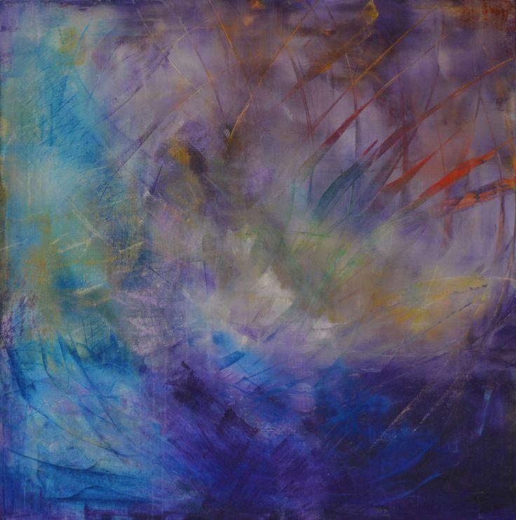 'Storm' by Uxbridge Ontario painter Carolyn Bather. Carolyn has exhibited in…