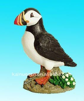 resin puffin tourist souvenirsport:XiaMen delivery time: 35 days after the sample be confirmed MOQ:2000piece/pieces