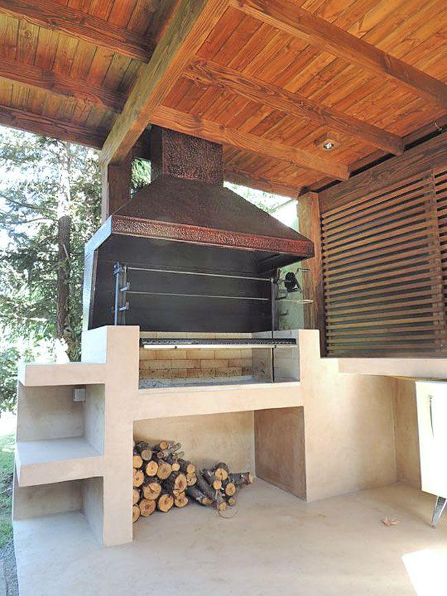 tipo de quincho,churrasquera,parrillero,moderno sistema,micro revestimiento microcemento,construcción en seco,revestido con microcemento