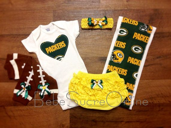 Packers Ultimate Game Day Set by BebeSucreOnline on Etsy