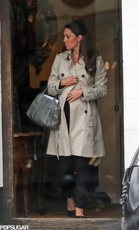 Kate goes antique shopping in Hungerford, England (June 22, 2013)