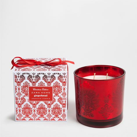 GINGERBREAD CYLINDER CANDLE - Fragrance - Collection - Christmas | Zara Home United Kingdom