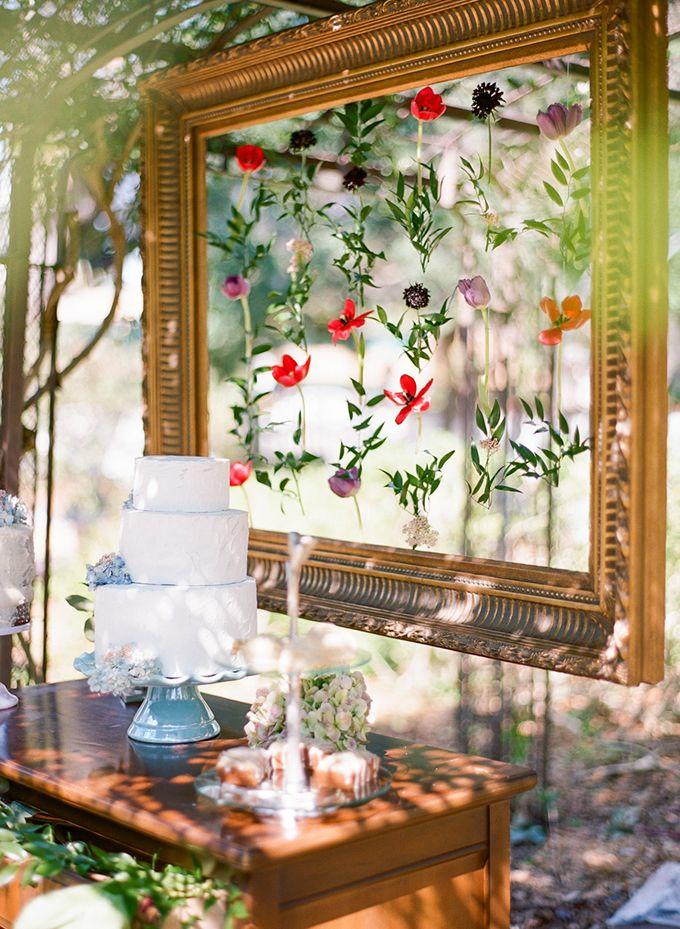 Florida vintage garden wedding inspiration   Emily Katharine Photography   Glamour & Grace
