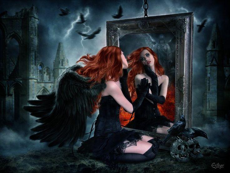 Mirror of Fate by EstherPuche-Art on deviantART (www.facebook.com/EstherPucheDigitalart)