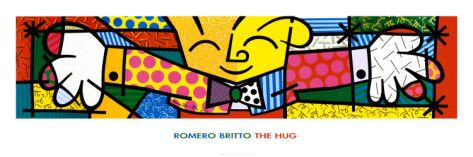 The Hug Prints by Romero Britto at AllPosters.com want this for my classroom