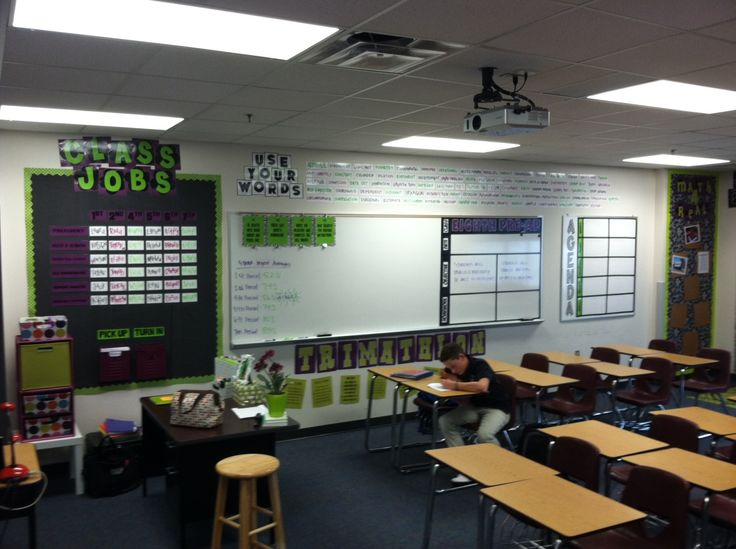 8th Grade Math Classroom