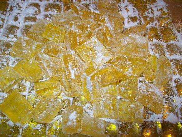 HARD ROCK CANDY (With images) Rock candy recipe, Hard