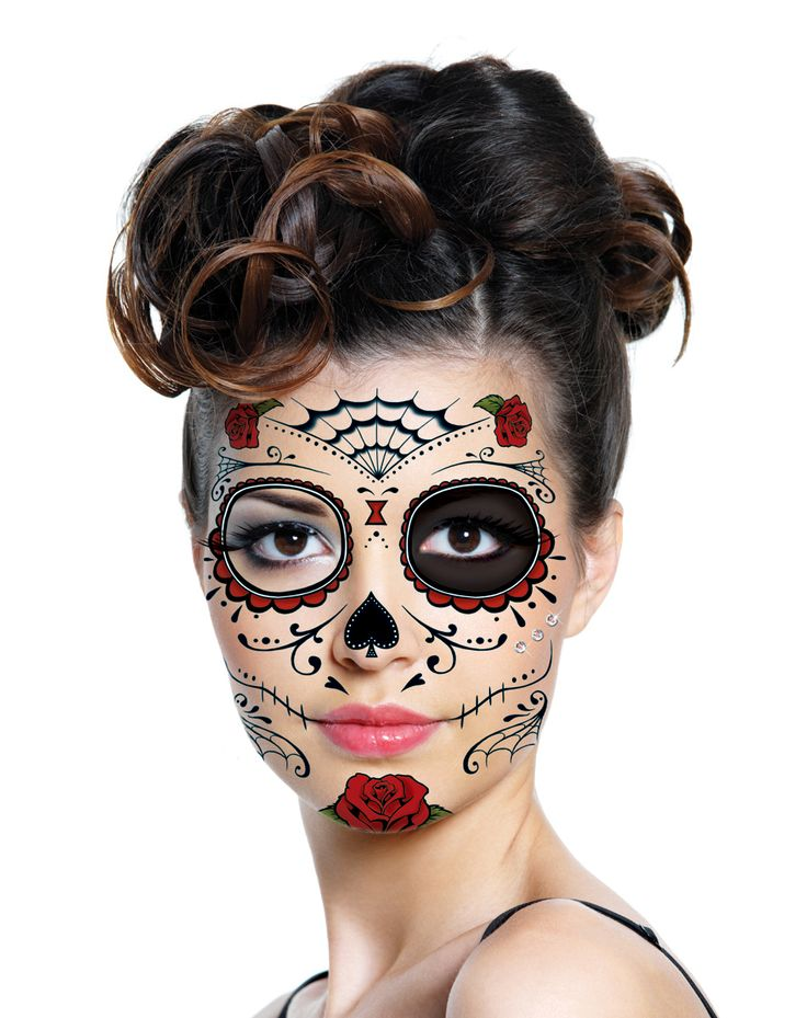 17 best images about halloween tattoo on pinterest for Halloween temporary tattoos