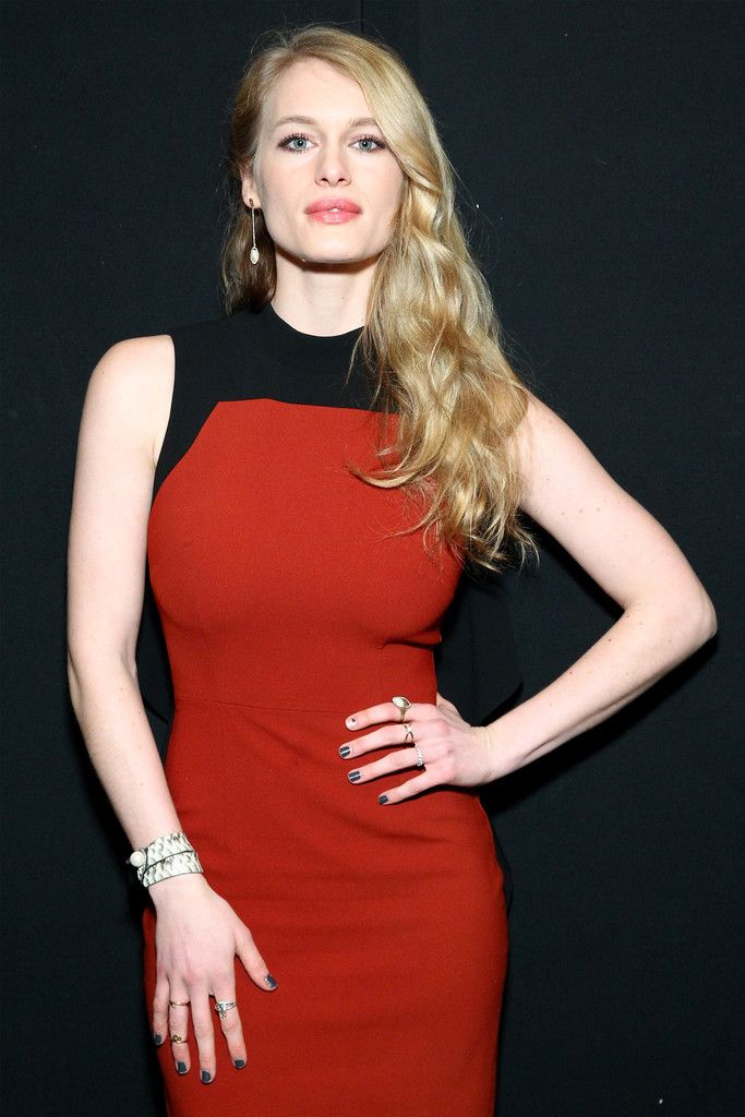 Leven Rambin Photos Photos - Actress Leven Rambin attends the Bibhu Mohapatra Fall 2016 fashion show during New York Fashion Week: The Shows at The Dock, Skylight at Moynihan Station on February 17, 2016 in New York City. - Bibhu Mohapatra - Front Row - Fall 2016 New York Fashion Week: The Shows