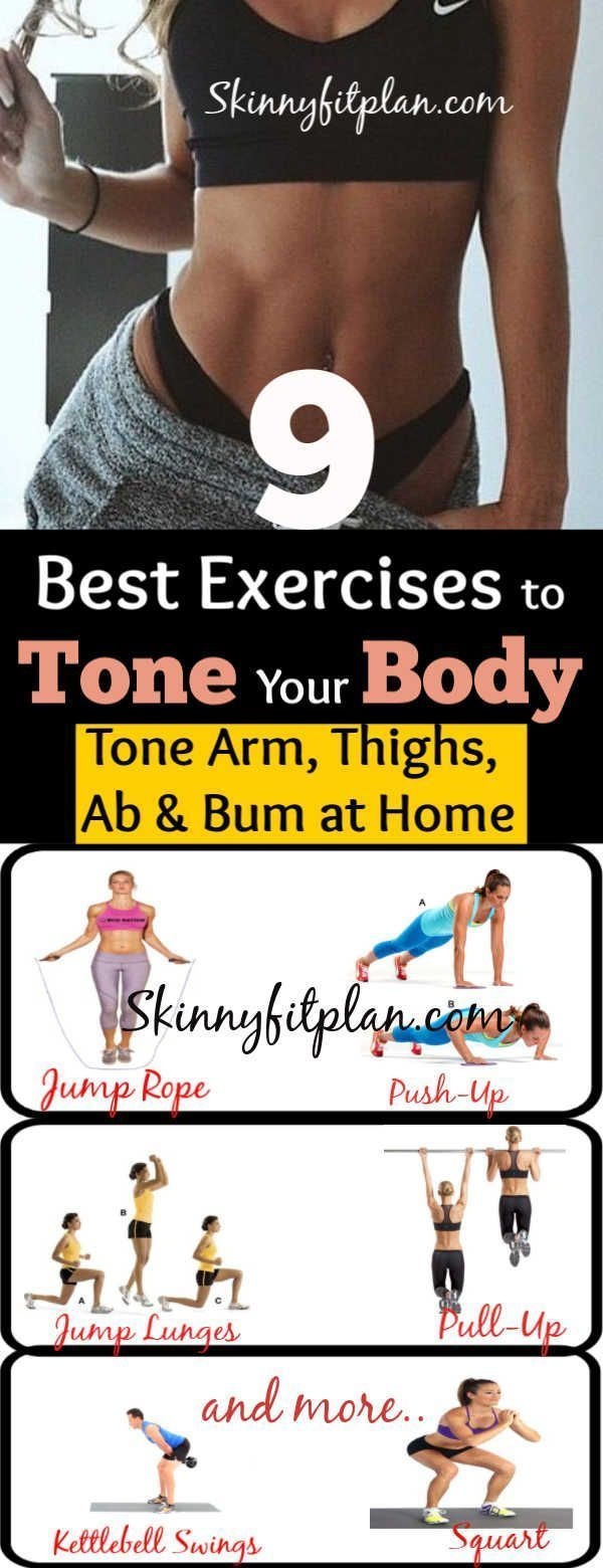 9 Best Toning Exercises: How to Tone Your Full Body-Thighs, Stomach, Arm at Home…