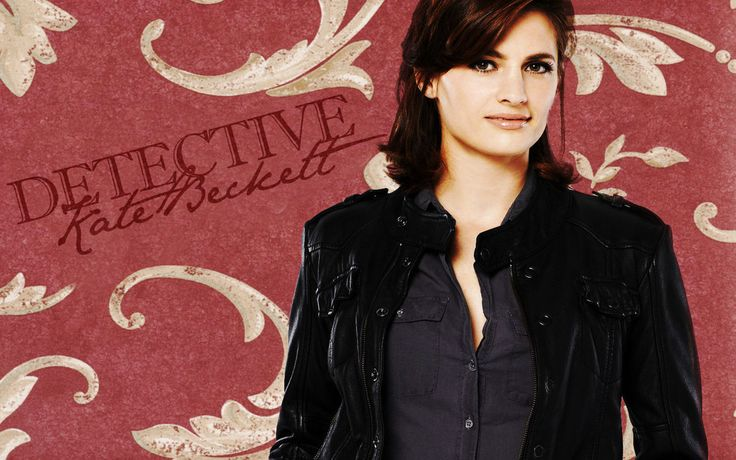 Detective Kate Beckett (Stana Katic) (Castle) (2009 - ) Detective Kate Beckett Paisley by michygeary