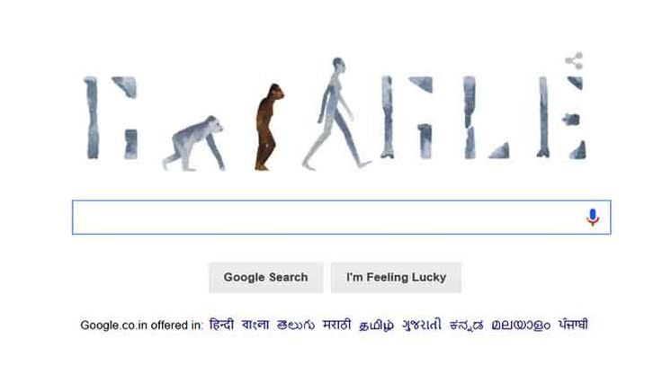 """Google pays tribute to """"Lucy"""" the most famous skeleton in the world"""