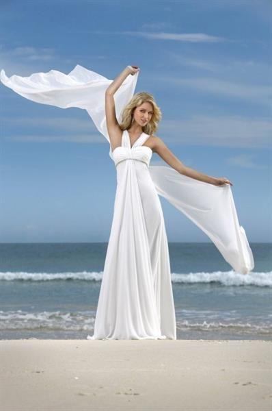 Свадебное платье для побережья