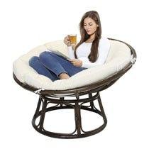 Lounge stoel Papasan