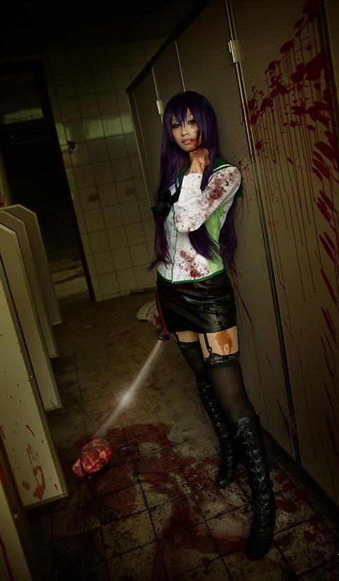 High School Of The Dead Saeko Busujima cosplay by twndomn.deviantart.com on @deviantART