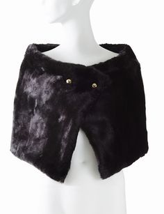 Faux Fur Cape from THELIMITED.com #ItsTime #TheLimited