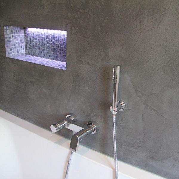 by art ceramica mortex details salle de bains beau m lange carrelage lumineux sur mortex gris. Black Bedroom Furniture Sets. Home Design Ideas