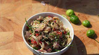 Shallot and lemongrass relish (sambal matah) recipe : SBS Food