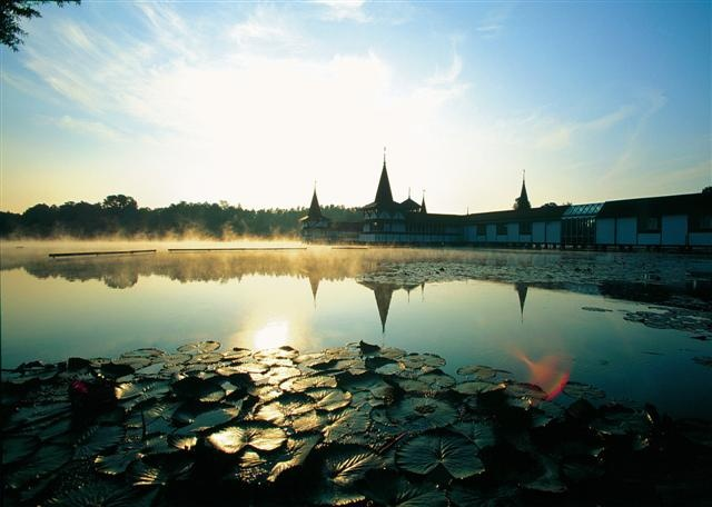 The thermal lake of Hévíz is the largest biologically active, natural thermal lake of the world. The oldest and most well-known bath of Hungary, in accordance with records from the Roman era, has a history of 2000 years.