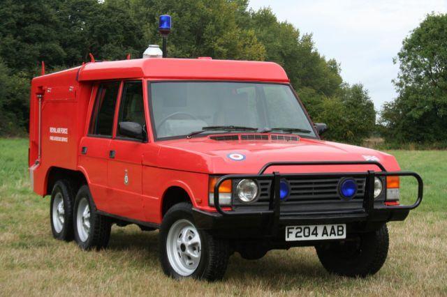 Land Rover Range Rover 3.5 Carmichael TACR2a 6x6 Crew Van Petrol Fire Engine Red