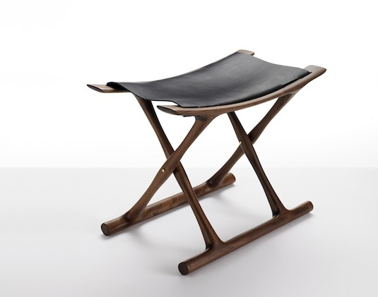OW2000 Egyptian folding chair designed by Ole Wanscher in 1957. Relaunched by Carl Hansen in. Folding ChairsLeather StoolSaddle LeatherChair ...  sc 1 st  Pinterest & Best 25+ Collapsible stool ideas on Pinterest | Folding stool ... islam-shia.org