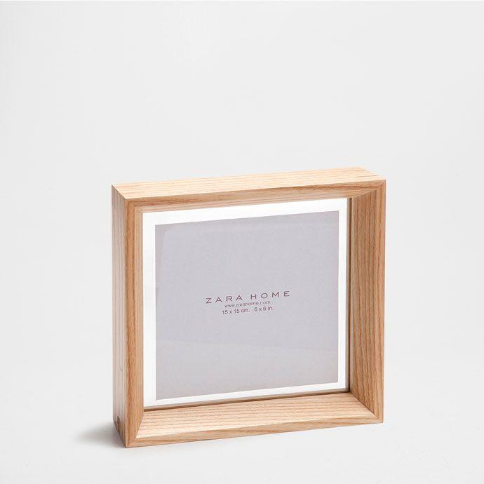 Moldura madeira e vidro - Molduras - Decoração | Zara Home Portugal