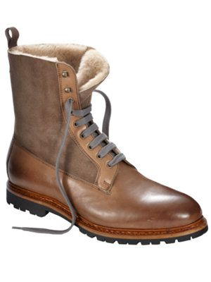 fabio shearling boot