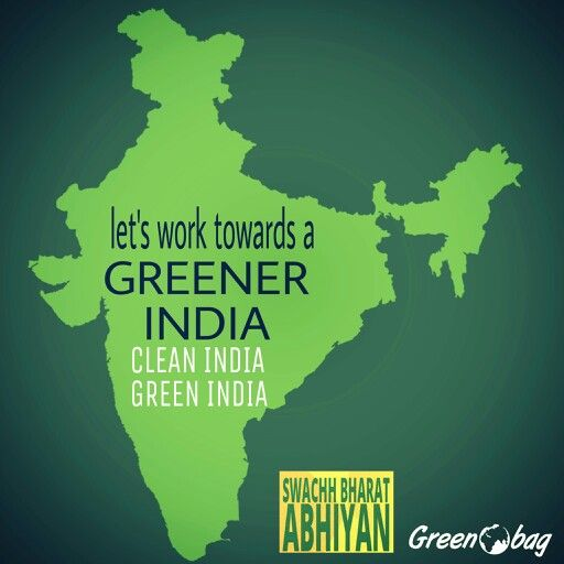 #greenobag supports our #PM #narendra #modi in the endeavour for #swach #bharat  #clean #india #green #india  #doyourbit for your country #gogreen #goclean  Tell us about how you are supporting this movement.  #swachbharatabhiyan