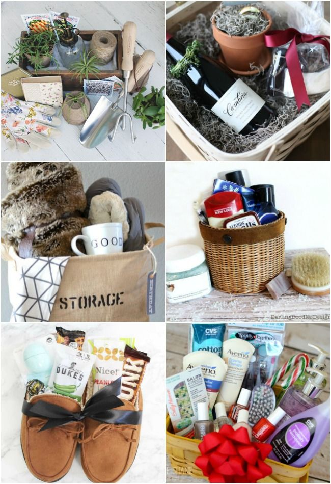 22 Diy Gift Basket Ideas For Everyone Gift Baskets For Women