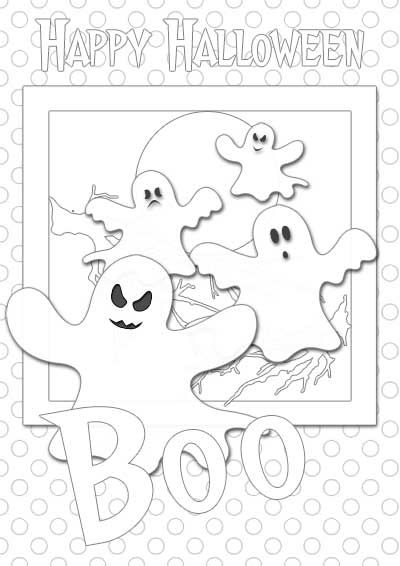 24 best Halloween Coloring pages images on Pinterest | Coloring ...