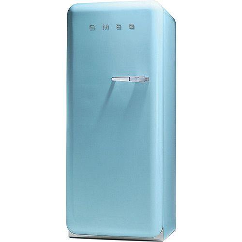 Todas Ofertas Online - Geladeira / Refrigerador Smeg 1 Porta Anos 50 Esquerda 268L Azul Claro. Por R$ 10.620,00 em 12x de R$ 885,00 sem juros. Oferta em 03/08/2013