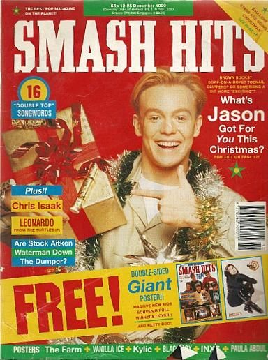Smash Hits December 1990 ft. Jason Donovan