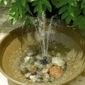 Solar Powered Birdbath Solar Powered Water Fountain feature Tags: Aviary bird bath ideas, aviary design, budgie.