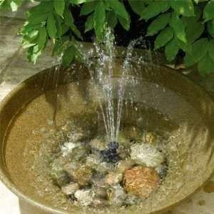 Solar Powered Birdbath Solar Powered Water Fountain feature Tags: Aviary bird bath ideas, aviary design, budgie.
