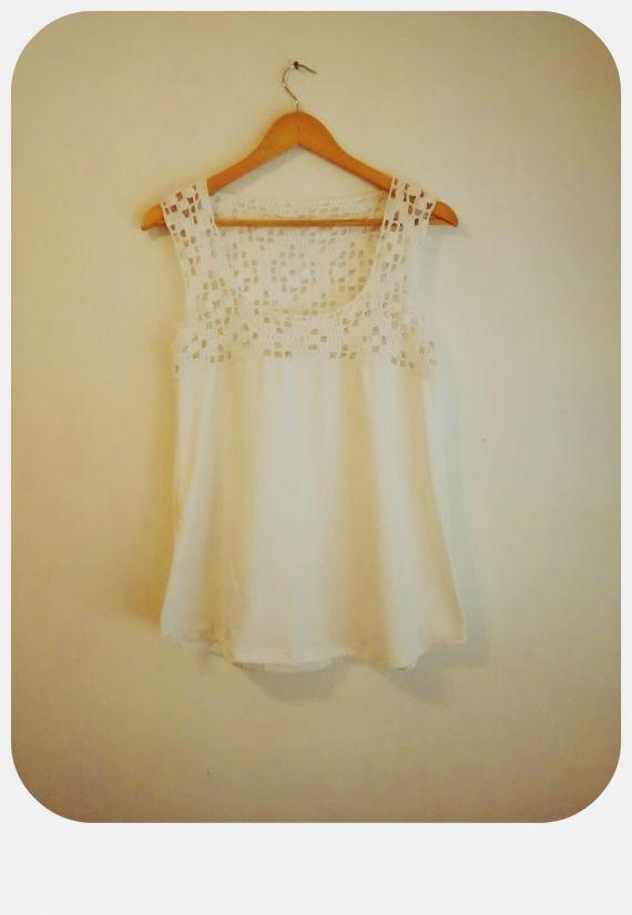 MUSCULOSA BETI - Crochet - Tejidos de Punto - 796433