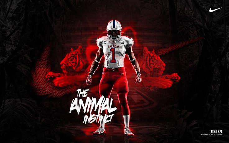 Nike NFL - The Animal Instinct on Behance