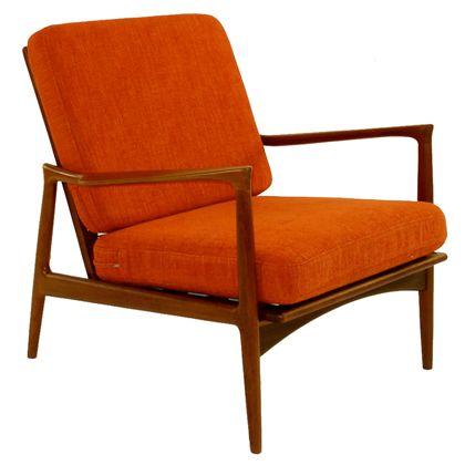 Kofod Larsen Danish Modern Teak Arm   Lounge Chair183 best Chair Love images on Pinterest   Chairs  Chair design and  . Teak Chair Parts. Home Design Ideas