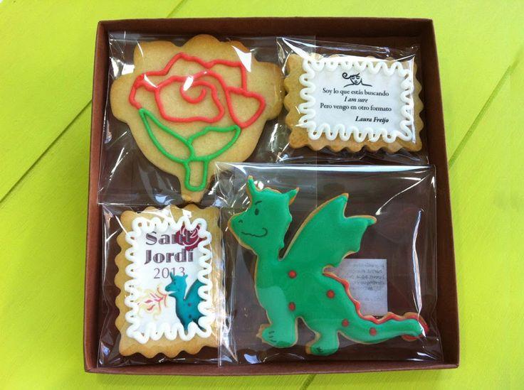 Tastery | Galletas para Sant Jordi