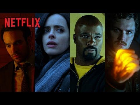 """Let's Scream Together About The First Trailer For Marvel's """"Defenders"""""""