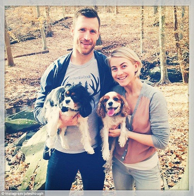 Lucky in love: The dancer has been with her hockey hunk boyfriend Brooks Laich for nearly ...