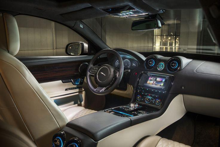2016 Jaguar XJ Portfolio interior