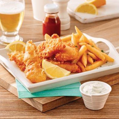 Fish'n chips - Recettes - Cuisine et nutrition - Pratico Pratiques