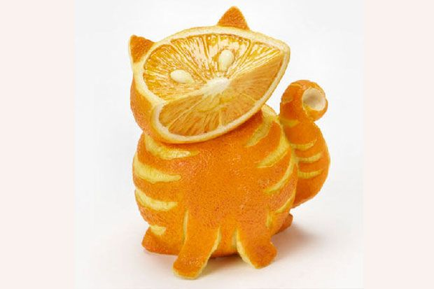 Best food art carvings images on pinterest carved