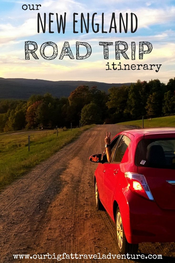 We're excited to be taking an eight-week road trip through New England this fall; here's our planned New England road trip itinerary. Road Trip | New England | Top places to see in New England | New England Road Trip | places to visit New England | New England places to see | What to see in New England | Best Road Trip Ideas #roadtrip #roadtrippin #newenglandroadtrip